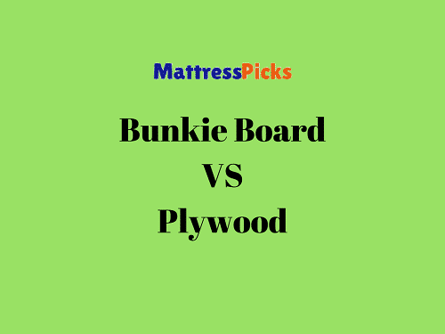 Bunkie Board VS Plywood