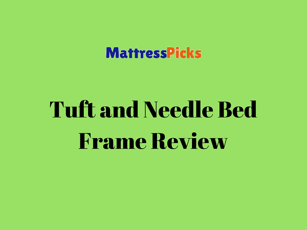 Tuft and Needle Bed Frame Review